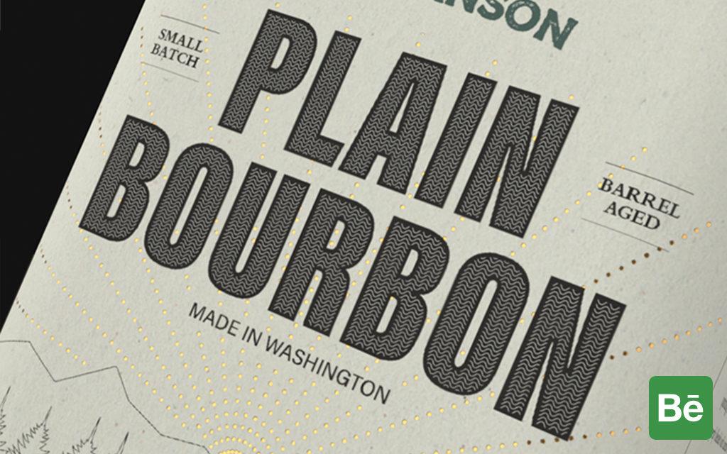 View PLAIN BOURBON on Behance